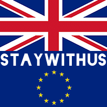 Stay with Us! Logo